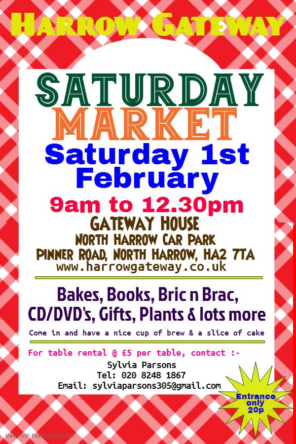 Harroiw Gateway Saturday Market