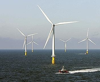 La centrale eolica galleggiante danese Horns Rev 2
