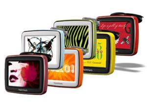 Le skin colorate per personalizzare TomTom Start