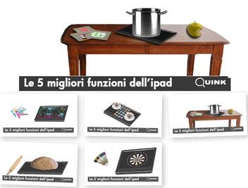Le cinque migliori funzioni di iPad nell'interpretazione di Quink