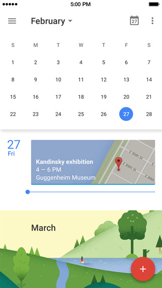 calendario google app iphone_2