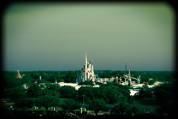 The Magic Kingdom at Walt Disney World in Orlando, Florida