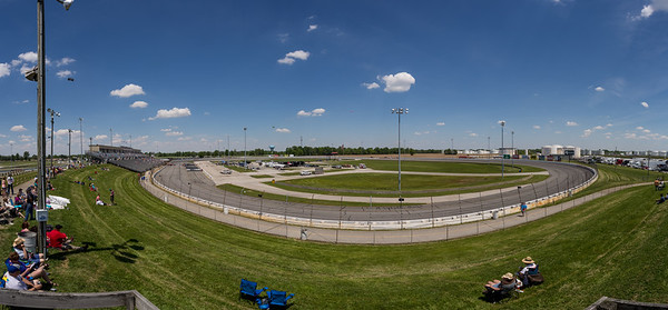 Lucas Oil Raceway during the Day Before the 500 on May 23, 2015