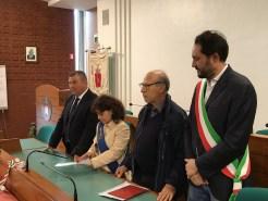 Grugliasco (To) - 14 maggio 2016 - Conferimento Cittadinanza Onoraria Masciari-Di Matteo-Borsellino_6