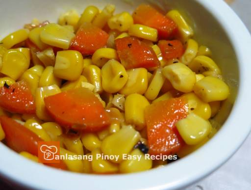 Buttered Corn & Carrots