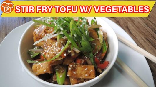 Stir Fry Tofu with Vegetables Recipe