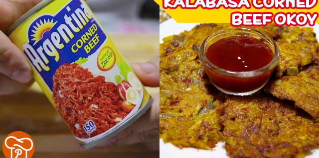 Kalabas Corned Beef Okoy Recipe