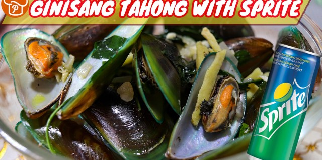 Ginisang Tahong with Sprite Recipe