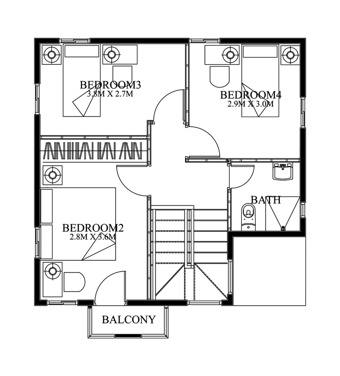 Small Modern House Layout. Modernhousedesignsecondfloor Small Modern House  Layout