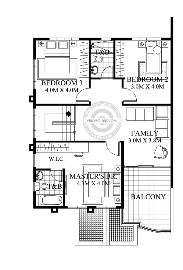 Do It Yourself Home Design: Johanne - 2 Story House Plan With Firewall