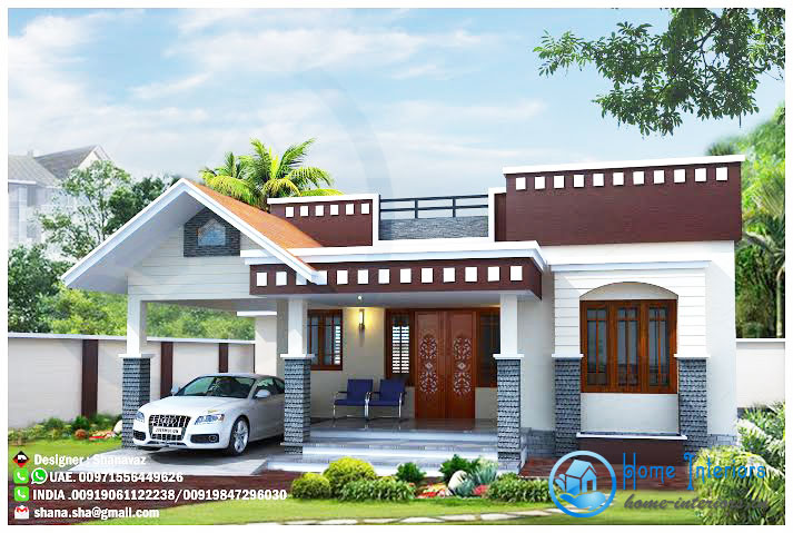 Modern one story home with roof deck pinoy eplans for 2 storey house design with roof deck