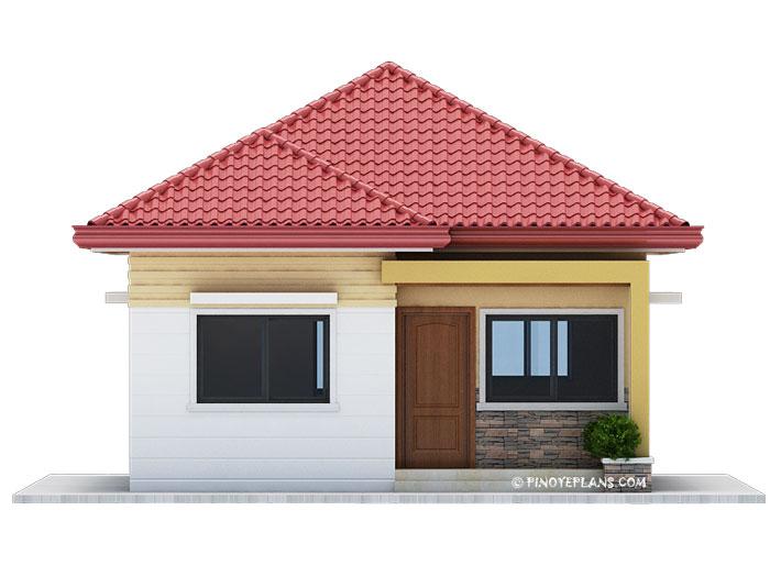 simple yet elegant 3 bedroom house design shd 2017031. Black Bedroom Furniture Sets. Home Design Ideas