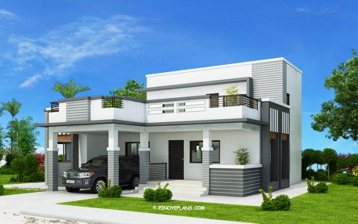 Four Bedroom Modern House Design