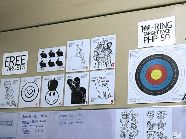 The Archery Academy Targets