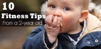 10 fitness tips you can learn from a two year old child image relatable fitness blog philippines 2 1