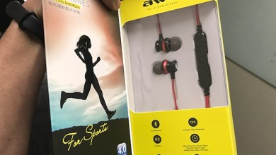 Photo of Workout Music Pumped With AWEI A980BL Bluetooth Headset