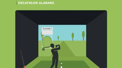 decathlon basic indoor golf tutorial relatable fitness philippines image