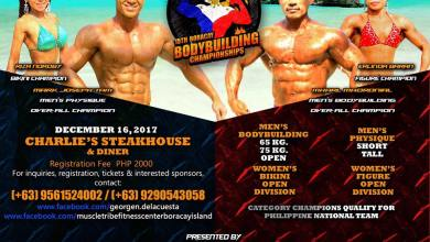 Photo of 2017 PCBF 15th Boracay Bodybuilding Championships