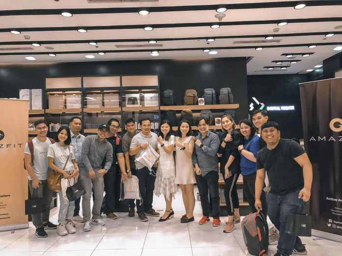 amazfit philippines product event launch pinoy fit buddy smartwatch xiaomi image2