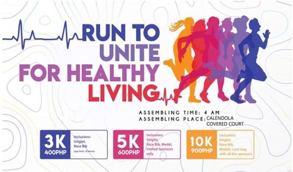 Run to Unite for Healthy Living 2019 600x352