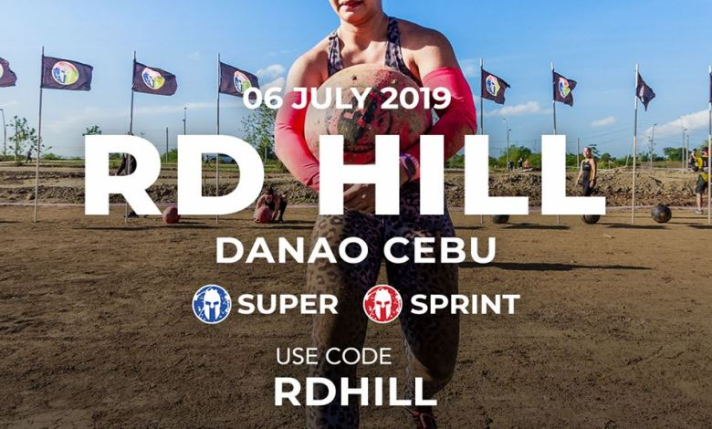 rd hill danao cebu spartan philippines obstacle run image