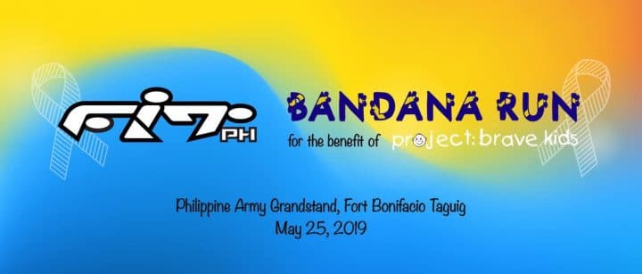 bandana fit run 2019 poster