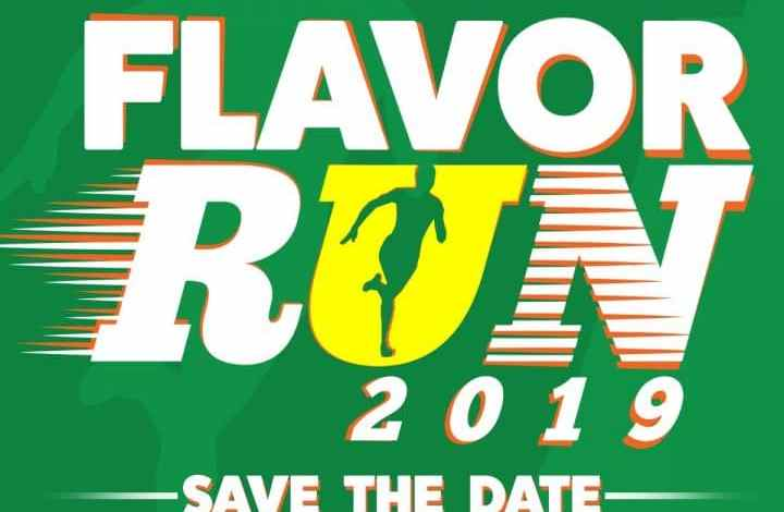 Potato Corner Flavor Run 2019 Poster