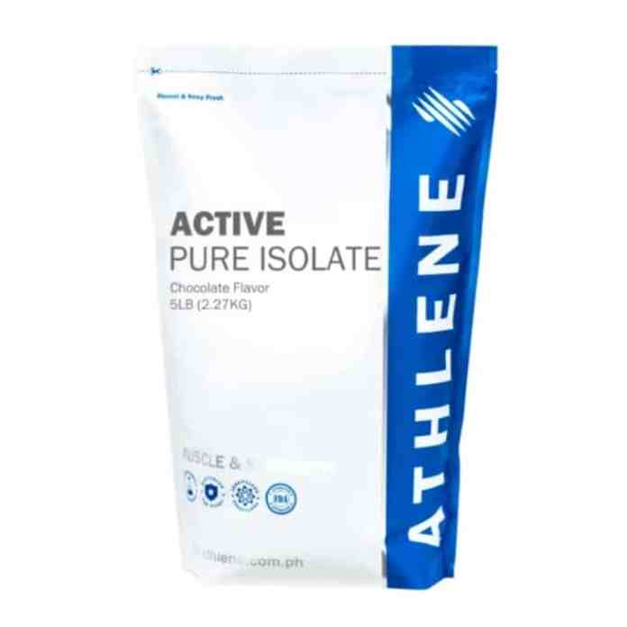 Athlene active pure isolate review philippines pinoy fit buddy image1