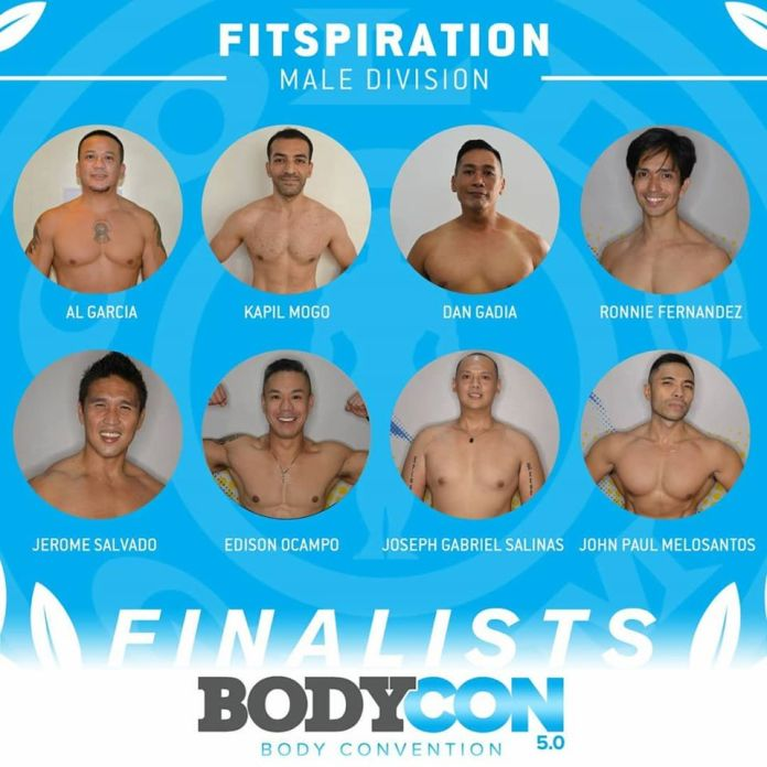 golds gym bodycon 5 finalists fitspiration male