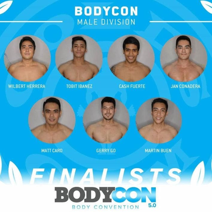 Gold's Gym BodyCon 5.0 Finalists - BodyCon Male Category
