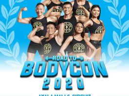 road to bodycon 2020 philippines golds gym image1 fitness event