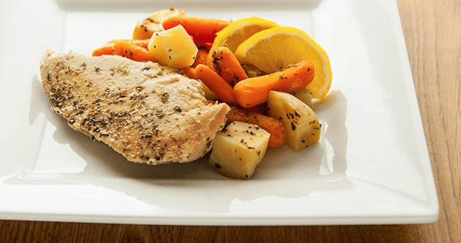 tips how to get back in shape after holiday binge potatoes usa chicken herbs
