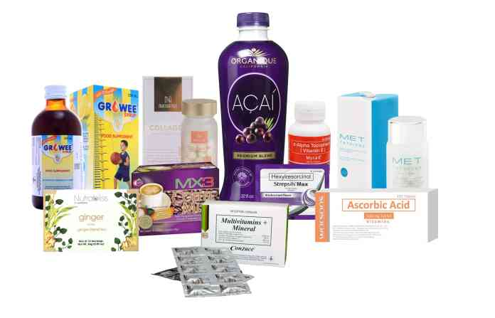 Some of the products to boost your immunity available at Watsons