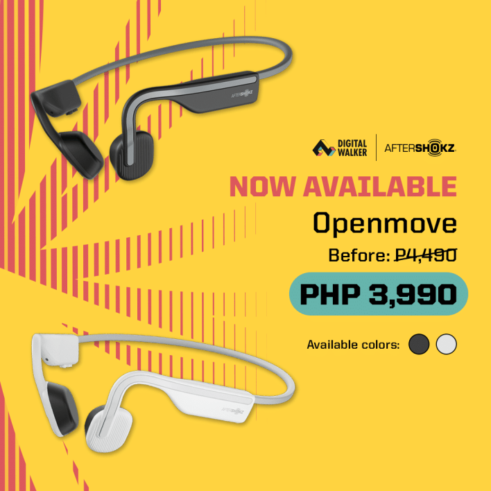 aftershokz openmove open ear lifestyle earphones digital walker philippines image4
