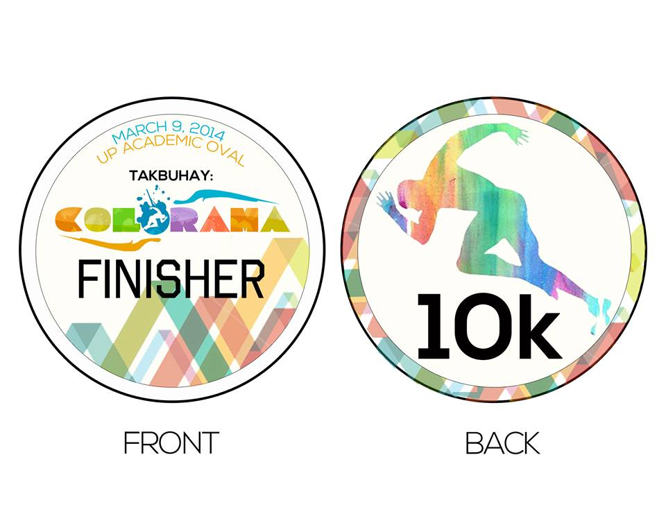 colorama-a-color-fun-run-medal-10K