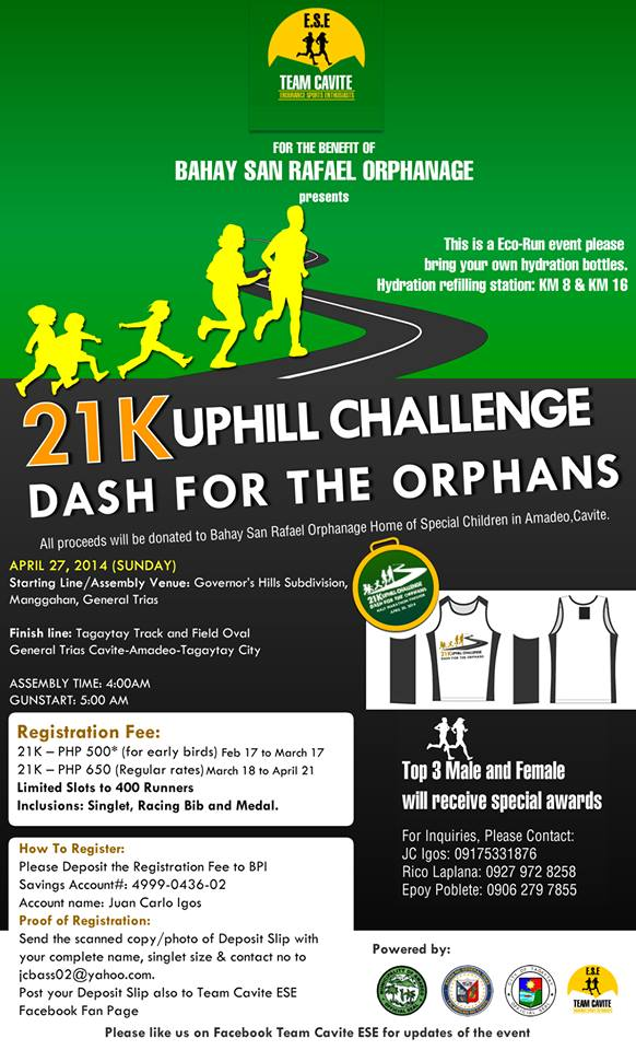 dash-for-the-orphans-21K-uphill-challenge-2014-poster