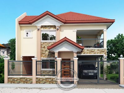 Two Story Cool House Plans Archives   Pinoy House Plans
