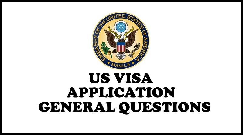 US Visa Interview General Questions