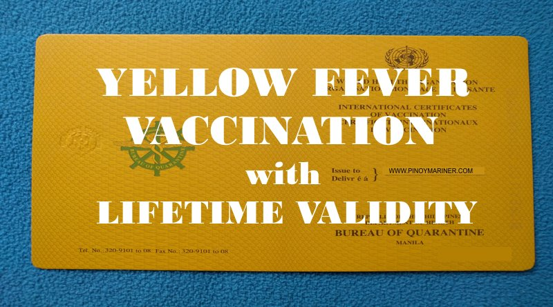 Yellow Fever Vaccination Application for Reissuance