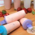 Strawberry Yogurt Popsicles Recipe