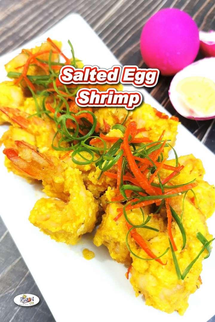 Spicy Salted Egg Shrimp