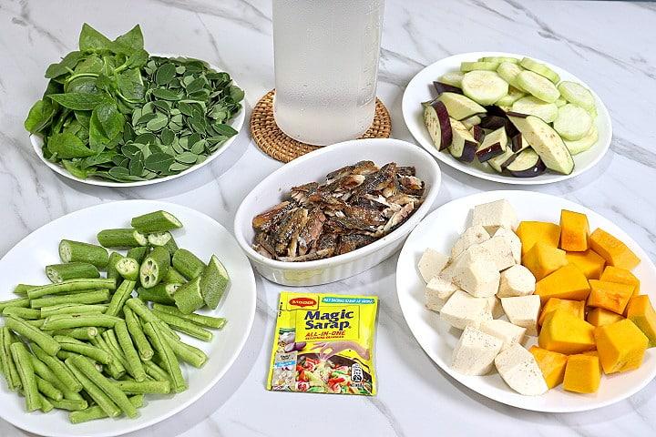 Ingredients of Utan Bisaya