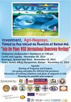 Investment, Agri-Negosyo, Serbisyo…Tungo sa Pag-unlad ng Pamilya at Bayan Mo