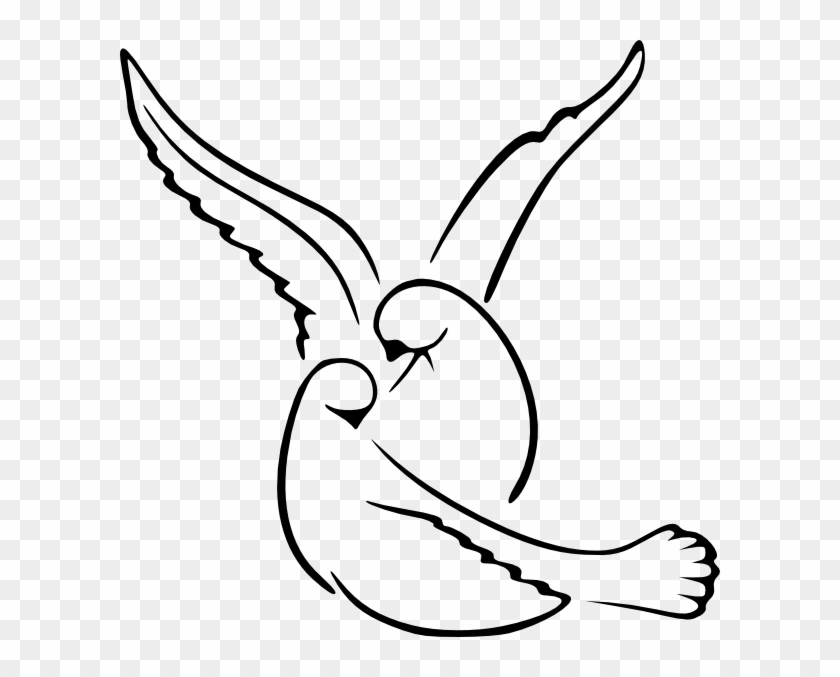 Download Love Bird Png, Svg Clip Art For Web - Love Birds Drawing ...
