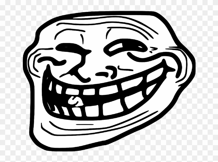 Trollface Png Transparent Troll Face Clipart Png Download