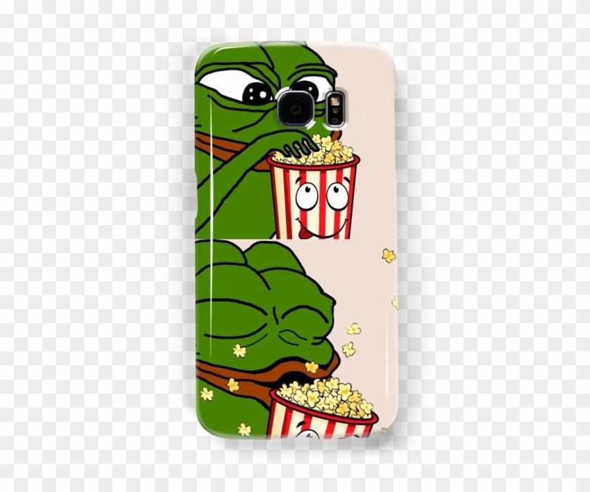 Pepe The Smug Frog Popcorn Popcorn Pepe Hd Png Download