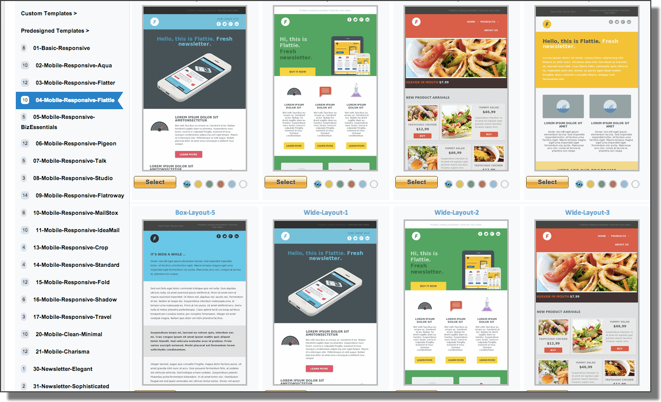 Mailer Templates Free Email Templates For Your Email Marketing