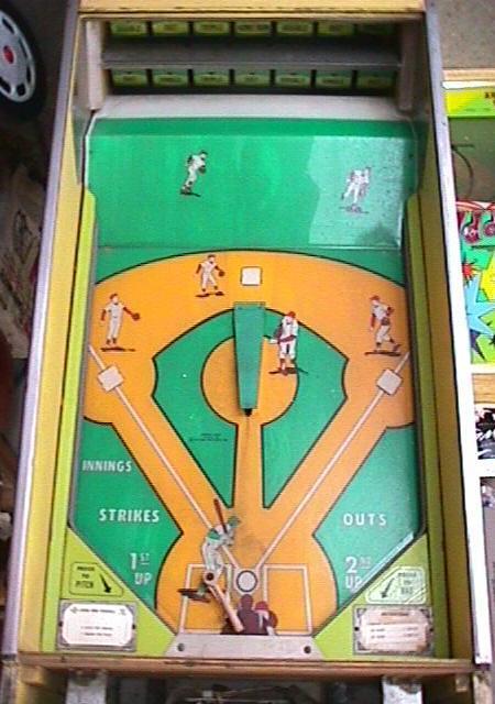 1973 Williams Upper Deck Baseball Pinball Arcade Game