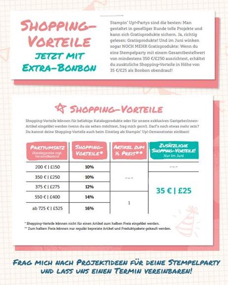 Bonus-Shoppingvorteile
