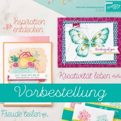 Frühling-/Sommer-Katalog & Sale-a-bration-Broschüre jetzt vorbestellen!